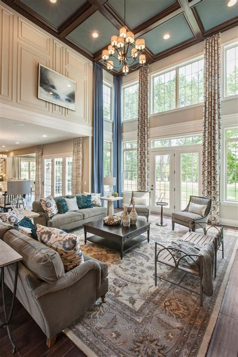 toll brothers  hasentree nc family rooms living