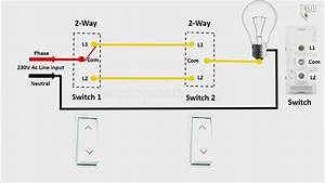 Wiring Diagram For 2 Switches And 2 Lights