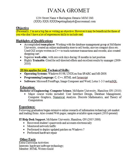resume objective exles with no experience work experience resume whitneyport daily