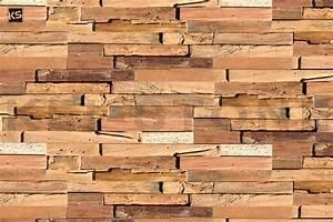 Parement Bois Adhesif : parement mural d 39 int rieur de bois flott d kowood ~ Premium-room.com Idées de Décoration