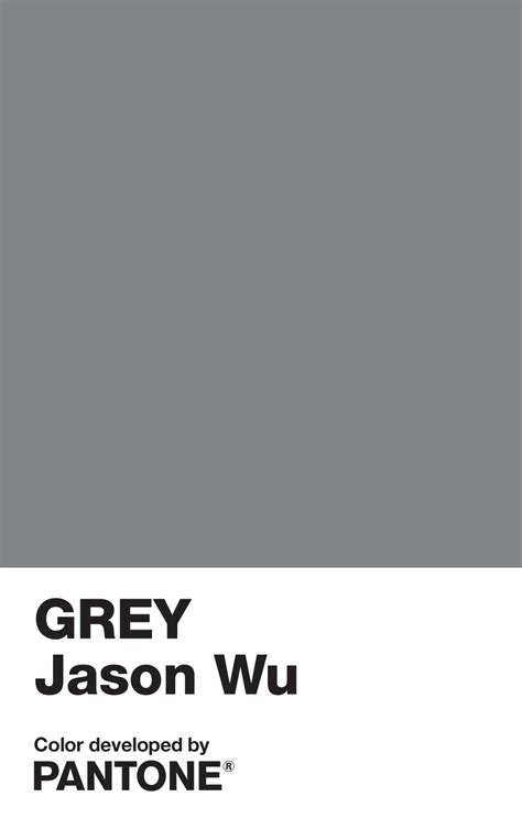 Pantone Farben Grau jason wu creates pantone color grey jason wu pursuitist