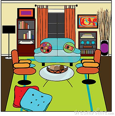 Living Room Clipart by Living Room Clipart Pencil And In Color Living Room Clipart