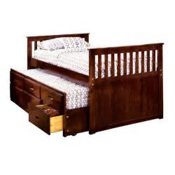venetian worldwide montana ii twin bed w trundle 3