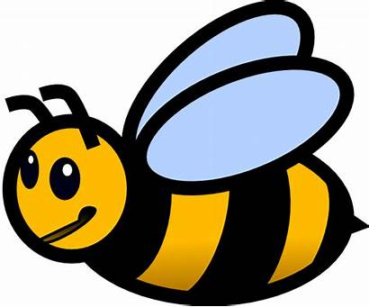 Bee Clip Clipart Clker Cliparts Domain
