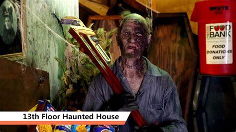 sa goes orange 13th floor haunted house youtube