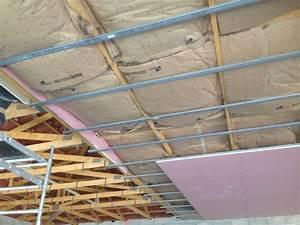 Placo Coupe Feu 1h : faux plafond cf 1h maison travaux ~ Dailycaller-alerts.com Idées de Décoration