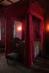 bedroom red gothic bedroom furniture sets
