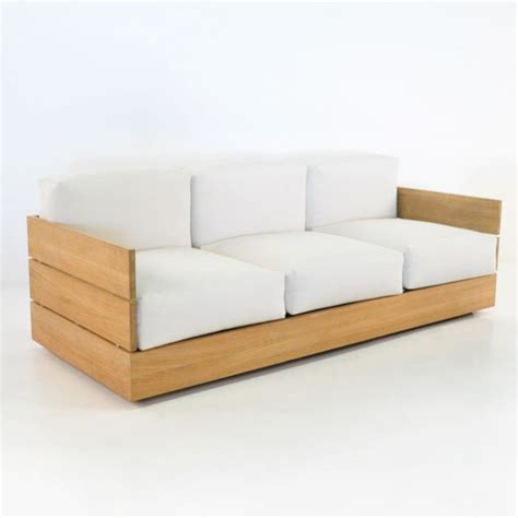 teak outdoor sofa ravello sofa couch teak outdoor
