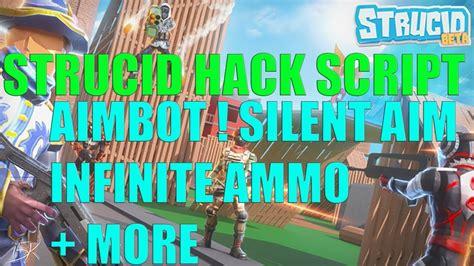 roblox hack  strucid aimbot silent aim infinite