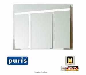 Spiegelschrank 100 Cm Led : puris ace spiegelschrank mit led beleuchtung 100 cm impulsbad ~ Bigdaddyawards.com Haus und Dekorationen