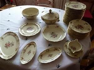 Service Vaisselle Porcelaine : service vaisselle ancienne fabrique royale de limoges 1 arts de la table pinterest service ~ Teatrodelosmanantiales.com Idées de Décoration