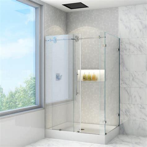 vigo winslow     frameless sliding shower
