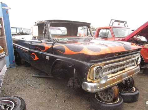 Junkyard Find 1966 Chevrolet C10 Pickup  The Truth About