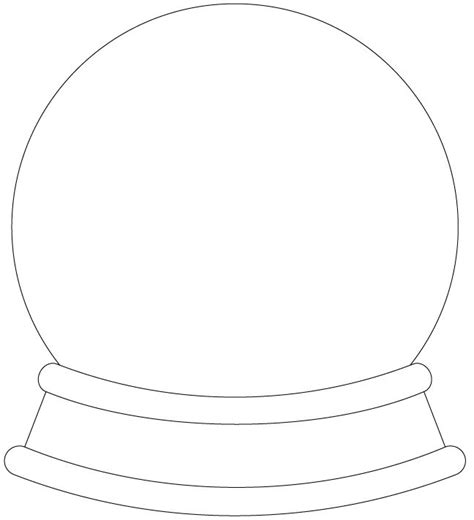 snow globe template 1000 images about svg files on silhouette store disney coloring pages and