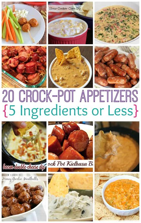 crock pot appetizers crock pot appetizers