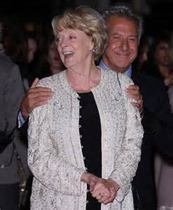 Dustin Hoffman tells how he won over Maggie Smith