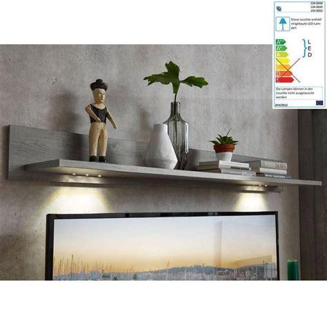 wandboard mit beleuchtung wohnzimmer wandboard mit led beleuchtung in haveleiche nb