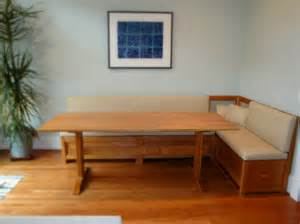 Table Banquette by Custom Banquettes And Benches From Vermont Furniture Makers