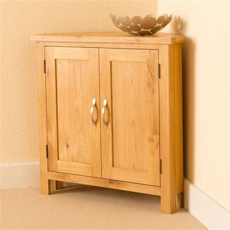 Small Cupboard Doors by Newlyn Oak Corner Cupboard Crafted Modern Oak Small