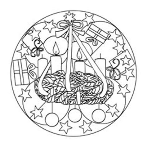 mandalas zum advent basteln gestalten