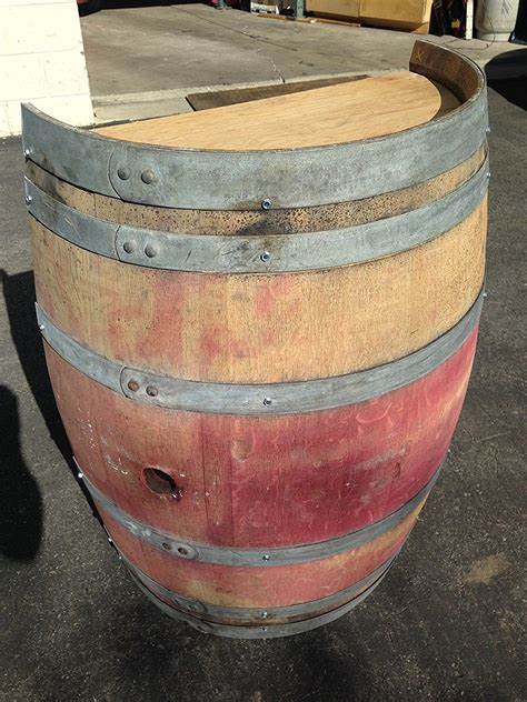 wine barrel  planter buffalo barrel company