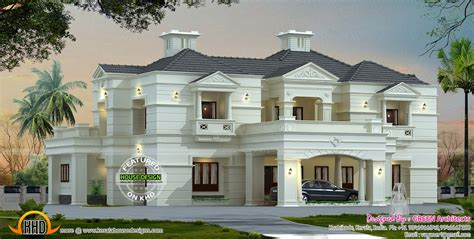 luxury floor plans for new homes new modern luxury home kerala home design and floor plans