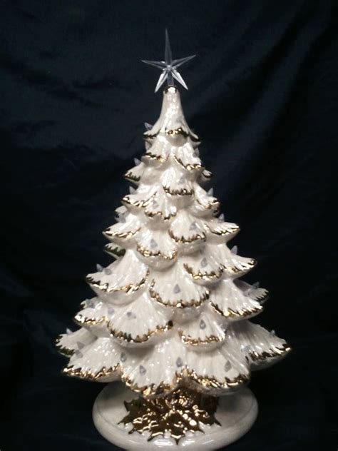 gold tipped christmas tree 25 best ideas about ceramic trees on lighted trees vintage