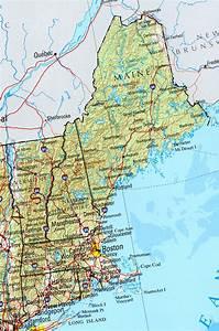 Maine Maps - Perry-casta U00f1eda Map Collection