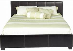 Belfair Brown 3 Pc Queen Bed - Beds Dark Wood