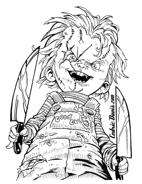 119 best Horror Coloring Pages images on Pinterest