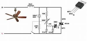 Simplest Ceiling Fan Electronic Regulator Dimmer