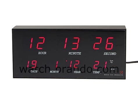 digital led clock datetimetemperature