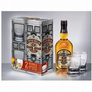 Coffret Verre Whisky : chivas regal 12 ans coffret 2 verres 70cl achat vente chivas regal 12 ans coffret ~ Teatrodelosmanantiales.com Idées de Décoration