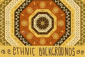 Ethnic African Seamless Background