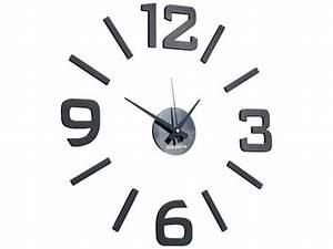 Grande Horloge Murale Design : grande horloge murale design fixer avec chiffres ind pendants ~ Teatrodelosmanantiales.com Idées de Décoration