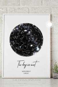 Mother Day Chart Personal Star Map By Date And Location Constellation Art