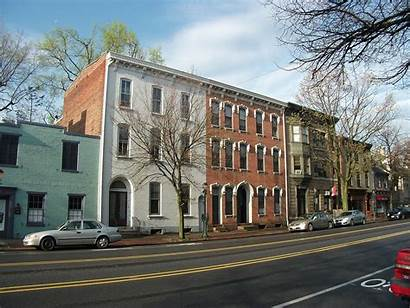 Carlisle Pa Pennsylvania College Downtown Towns Wikimedia