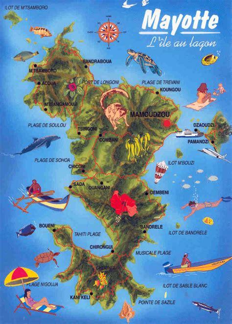 maps  mayotte island map library maps   world