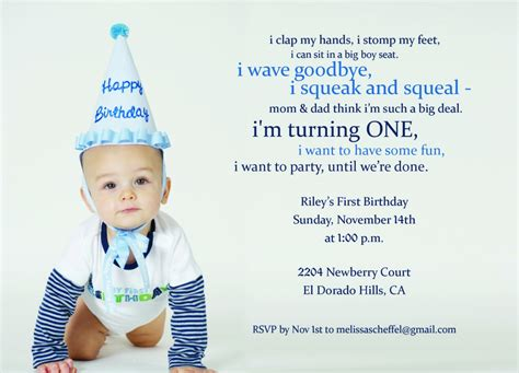1st birthday party ideas birthday quotes 1st birthday invitations birthday party invitations