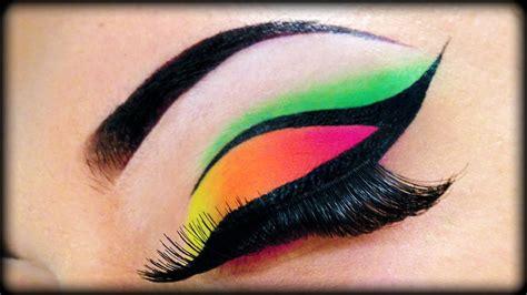 neon   tutorial  sleek makeup essence ft kosmetikless youtube