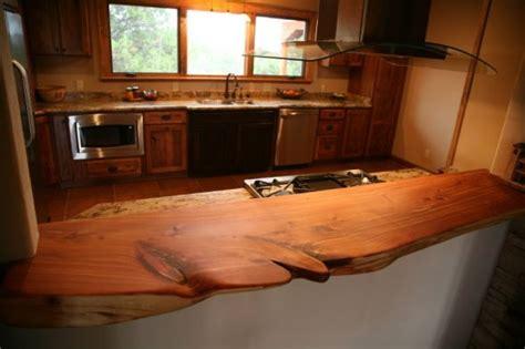 love  cedar countertopbeautiful kitchen