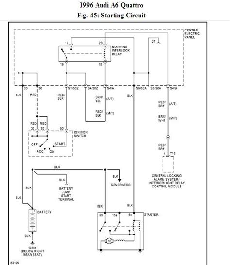 C4 Fuel Wire Diagram by Quattroworld Forums C4 Starting Circuit Wiring Diagram