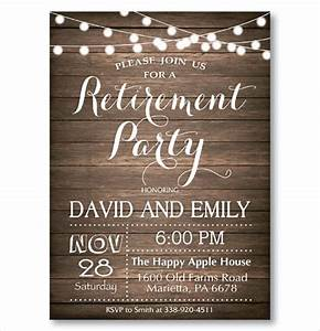 surprise retirement party invitations gangcraftnet With free templates for retirement invitations
