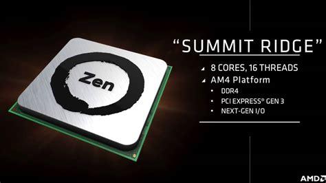 amd zen  procesory szybsze od chipow intela