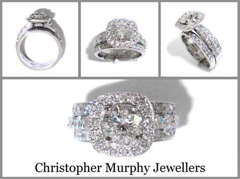 Double Wedding Rings  Christopher Murphy Jewellers. Sun Moon Necklace. Classic Diamond Rings. Mens Medieval Wedding Rings. Emerald Cut Diamond Bands