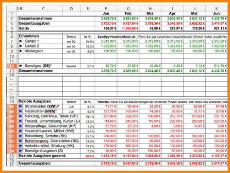 excel tabelle haushaltsbuch mylop