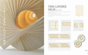 Spiral Origami Art Design