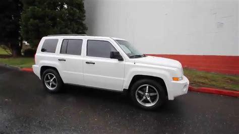 jeep patriot white 2009 jeep patriot sport white 9d219660 redmond