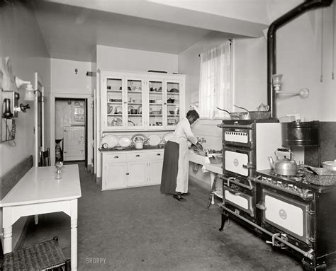The Modern Kitchen: 1920. Washington, D.C., circa 1920