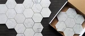 Carrelage Mural Hexagonal : carrelage hexagonal tendance id es de couleurs et designs carrelage fa ence carrelage ~ Carolinahurricanesstore.com Idées de Décoration